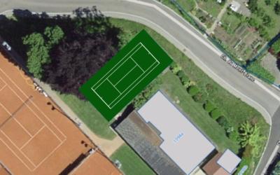Nouveau terrain Mini-Tennis